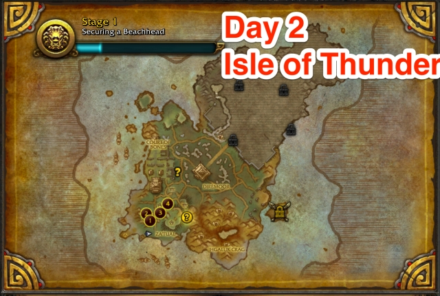 Earthen Ring, Day 2 progress Isle of Thunder
